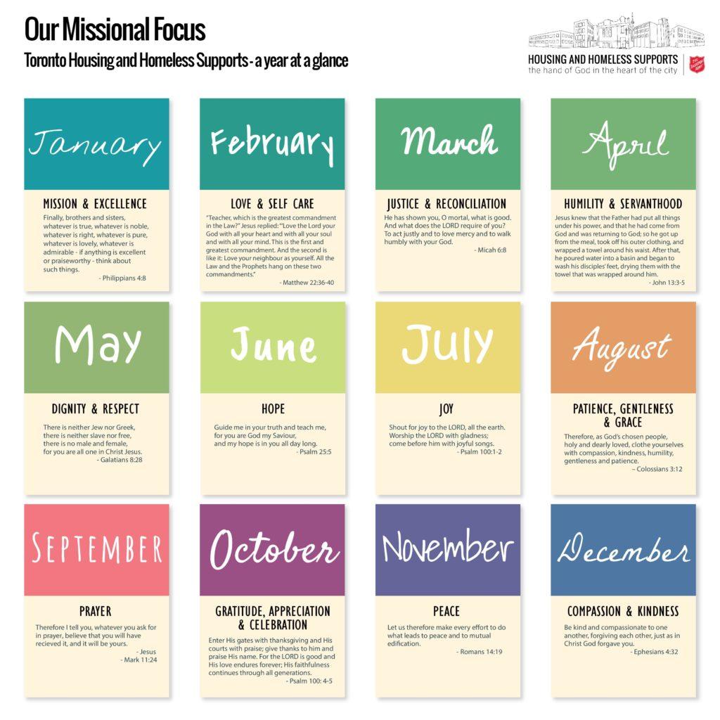 image of missional calendar
